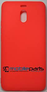 Оригинальный Силиконовый Чехол SMTT Meizu M6 Note (Красный)