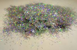 Голограф. 4 Люрекс серебро, 0,2*2 мм
