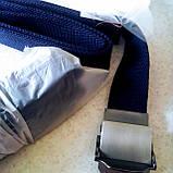 Джинсовый пояс самосброс «NOS» 110-130 см синий, фото 3