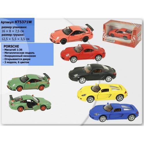 """Машина Kinsmart  """"Matte Porsche"""" KT5371W"""