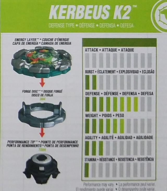 Beyblade Kerbeus K2