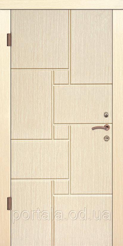 """Вхідні двері """"Портала"""" (серія Елегант NEW) ― модель Техас"""