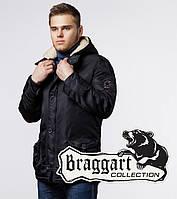 Модная парка зимняя Braggart Arctic - 34568 чёрный