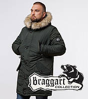 Зимняя парка мужская Braggart Arctic - 91660 хаки