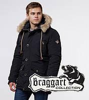 Стильная парка мужская Braggart Arctic - 38950 черный
