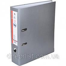 Папка-регистратор (сегрегатор) А4, 7 см, серый
