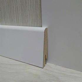 Плінтус МДФ білий для підлоги 17,4х58х2400мм., Pedross Італія
