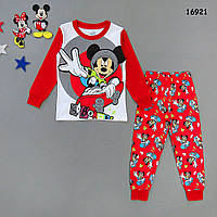 Піжама Mickey Mouse для хлопчика. 100, 120 см