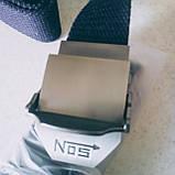 Джинсовый пояс самосброс «NOS» 110-130 см серый, фото 8