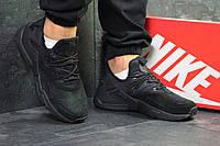 Кросівки чоловічі Nike Huarache стильні класика молодіжні зручні (чорні), ТОП-репліка, фото 1