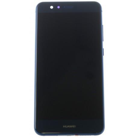 Дисплей для Huawei P10 Lite (WAS-LX1/LX2/LX3) с тачскрином и рамкой синий Оригинал