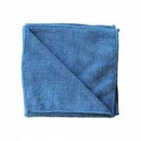 Салфетка из микрофибры для стекла 35х35см цветовая кодировка синий Merida