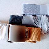 Джинсовый пояс самосброс «NOS» 110-130 см серый, фото 7