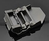 Джинсовый пояс самосброс «NOS» 110-130 см светло-серый, фото 6