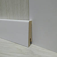 Плинтус МДФ белый напольный 19х58х2400мм., Pedross Италия