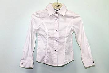 Біла блузка для маленької дівчинки TobeTo