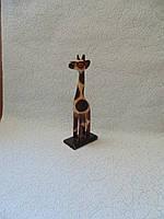 Статуэтка деревянная Жираф  20 см