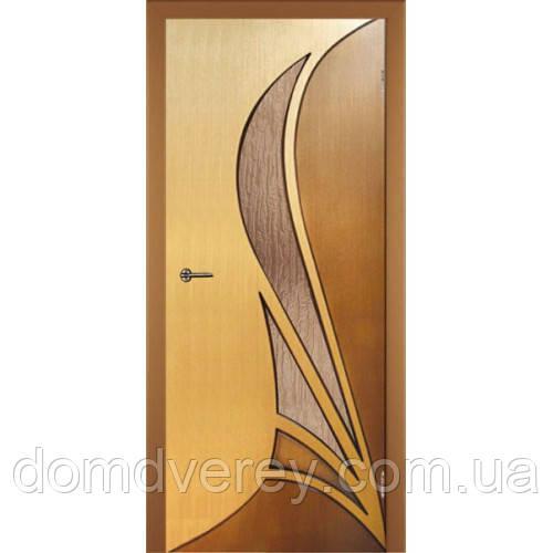Двери Белвуддорс, Корона дуб радиал/орех ПО серия стандарт