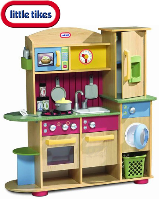 Детская кухня деревянная Little Tikes 618697