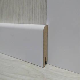 Плінтус МДФ Білий підлоговий 15х70х2400мм., Pedross Італія