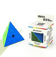 Moyu Pyraminx цветной пластик, пирамидка, пираминкс, кубик Рубика