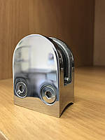 Стеклодержатель литой полукруглый под стекло 8 мм и под трубу 38,1 мм