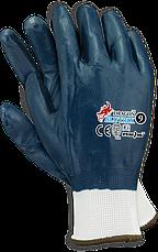 Профессиональные рабочие перчатки с НИТРИЛОВЫМ покрытием RAWPOL - REIS POLAND