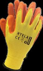 Профессиональные рабочие перчатки с ЛАТЕКСНЫМ покрытием RAWPOL - REIS POLAND