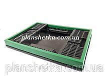 Ящик пластиковий складаний 480х350х240 Кольоровий, фото 3