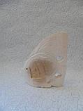 Статуэтка Рыбка деревянная размер 15*13 см, фото 4