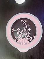 Светодиодный светильник бра  цвет корал 953, фото 1