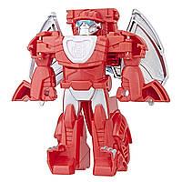 Трансформер Playskool Heroes Transformers Хитвейв Фаер Бот Боты спасатели, фото 1