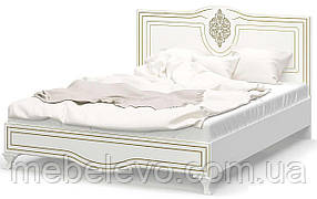 Кровать Милан 160 1090x1645x2056мм белый   Мебель-Сервис