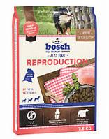 Сухой корм Бош Репродакшен (Bosch Reproduction) для беременных (с 5-ой недели) и кормящих сук, 7.5 кг