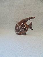Статуэтка Рыбка деревянная размер 14*19 см, фото 1
