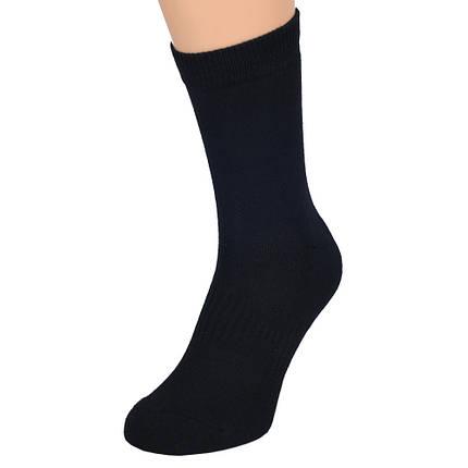 Носки трекинговые MIL-TEC термоактивные Coolmax Socks Black Черные, фото 2
