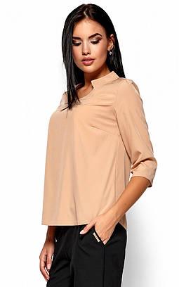 (S, M, L, XL) Класична стильна бежева блузка Malibu