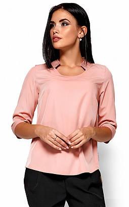 (S, M, L, XL) Класична стильна рожева блузка Malibu