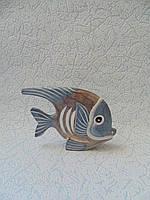 Статуэтка Рыбка деревянная размер 12*8.5 см, фото 1