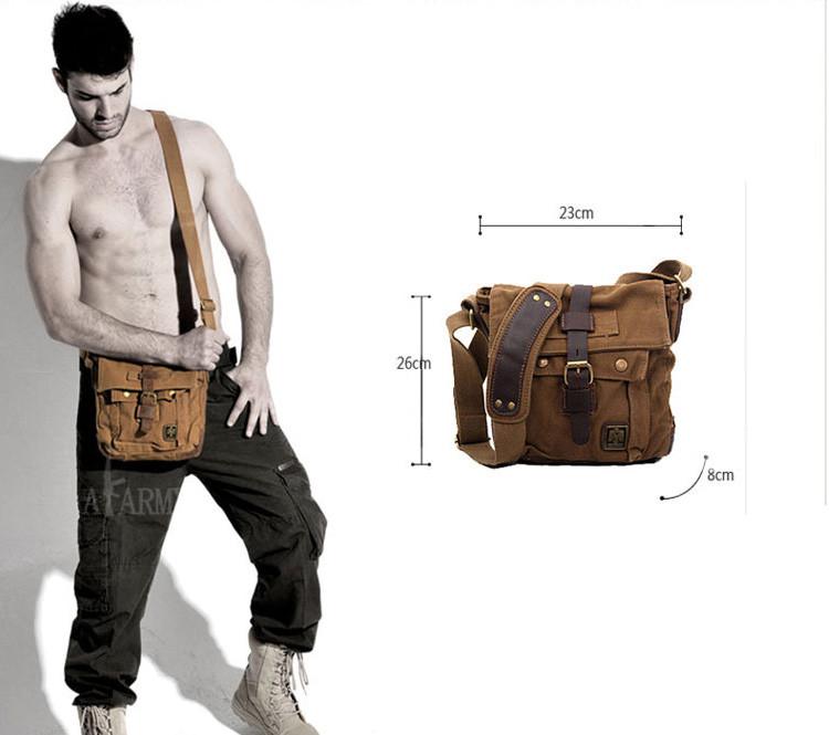 55bc53cd6dcb Мужская сумка через плечо Akarmy   милитари   цена. Купить в ...