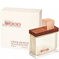 Женская парфюмированная вода Dsquared2 She Wood Velvet Forest Wood,(мистический аромат)