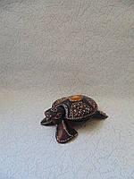 Черепаха деревянная размер 16*8*3 см