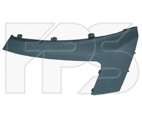 Накладка под фарой правая Citroen Jumpy, Peugeot Expert, Fiat Scudo (07-12) без отв. омывателя (FPS) , фото 2