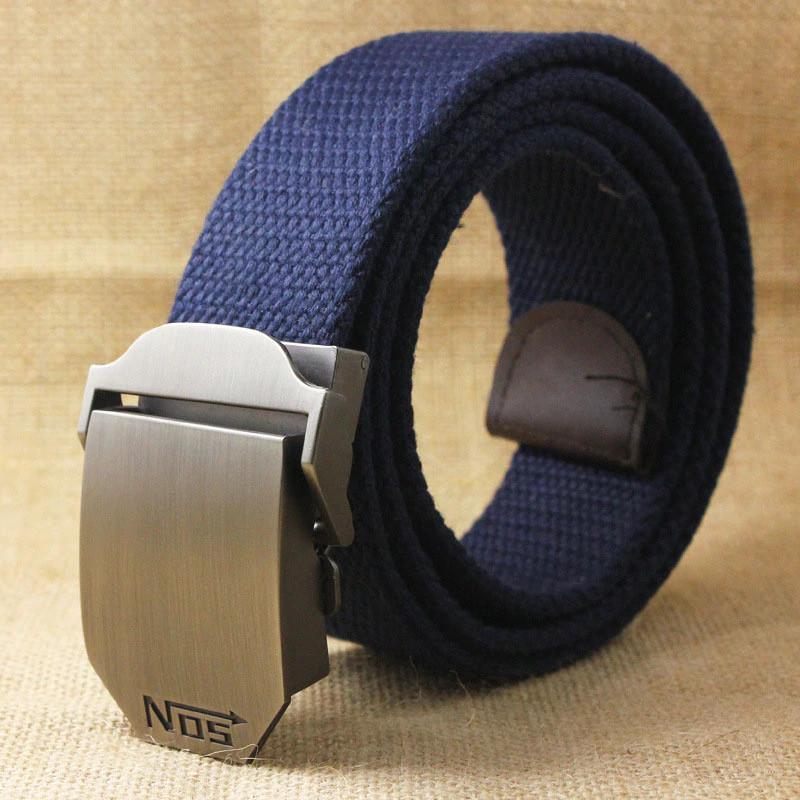 Джинсовый пояс самосброс «NOS» 110-130 см синий