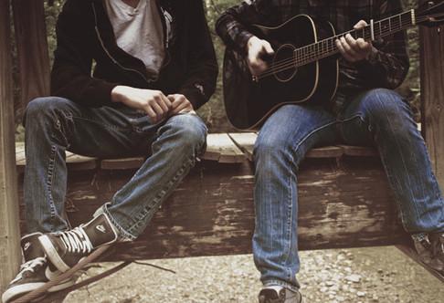 Музыка и джинс, образ