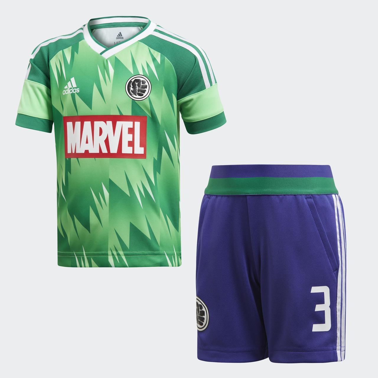 Купить Детский костюм Adidas Performance Marvel Hulk (Артикул ... 0bbaf1dc793
