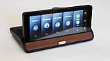 Видеорегистратор на Торпеду DVR T7- 3 в 1 Android - Регистратор -GPS Навигатор + Камера Заднего Вида, фото 4