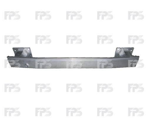 Шина переднего бампера верхняя Citroen Berlingo, Peugeot Partner (08-15) усилитель (FPS), фото 2