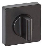 Накладка WC-фиксатор SYSTEM RO11W AL6 - матовый черный
