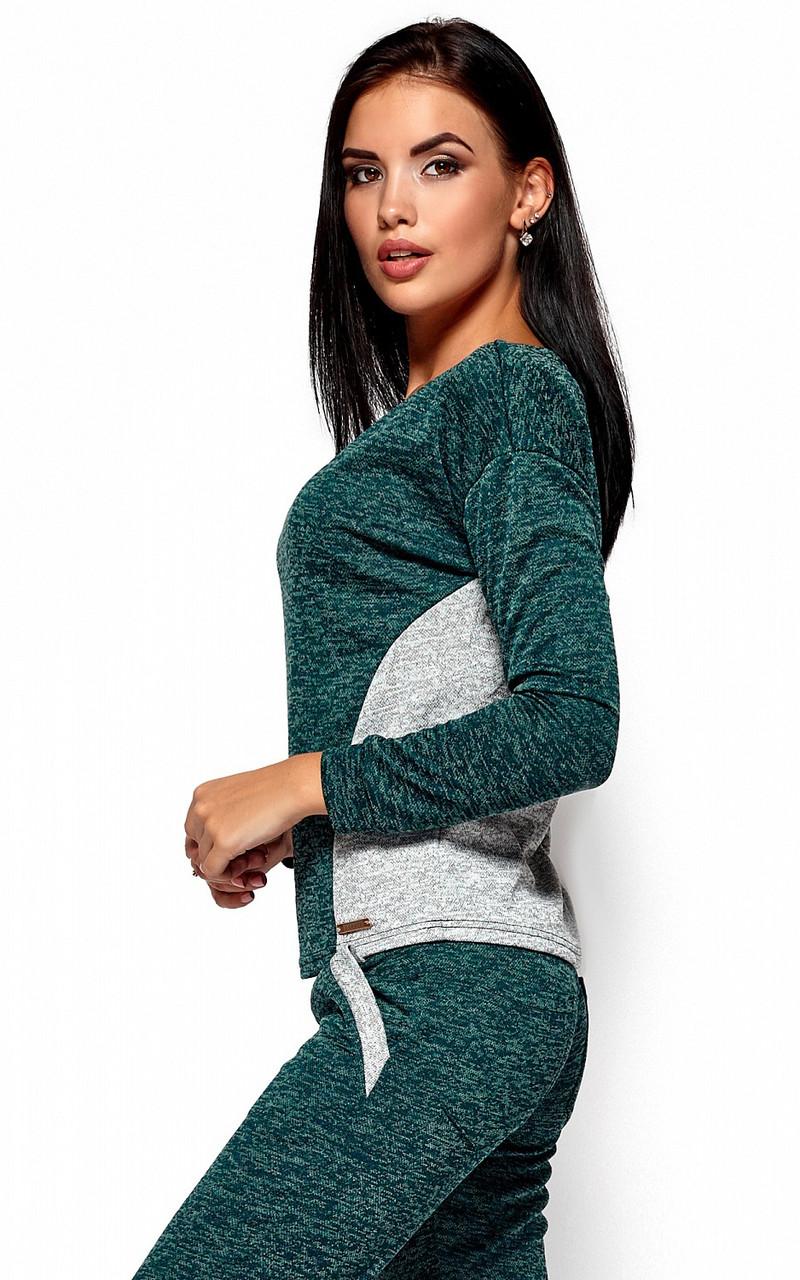 (S, M, L) Молодіжний темно-зелений спортивний костюм Alisia
